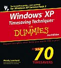 Windows XP Timesaving Techniques For 2nd Edition
