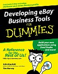 Developing Ebay Business Tools for Dummies (For Dummies)