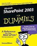 Microsoft Sharepoint 2003 for Dummies (For Dummies)
