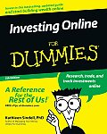 Investing Online for Dummies 5TH Edition Online