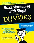 Buzz Marketing with Blogs for Dummies (For Dummies)