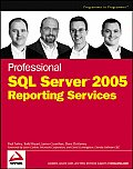 Professional SQL Server 2005 Reporting Services Cover