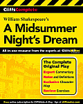 Cliff's Complete on : Midsummer Night's Dream (01 Edition) - Study Notes Cover