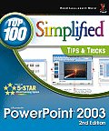 PowerPoint 2003 Top 100 Simplified T 2nd Edition