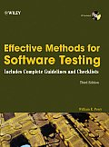 Effective Methods for Software Testing - With CD (3RD 06 Edition)