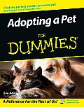 Adopting a Pet for Dummies (For Dummies) Cover