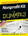 Nonprofit Kit for Dummies 2ND Edition