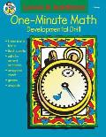 One-Minute Math Addition: Sums 11 to 18, Grades 1-2: Developmental Drill