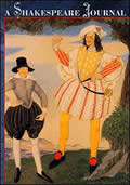 Shakespeare Journal Lined