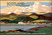 Scotland: The Poster Art of Norman Wilkinson Book of Postcards