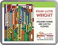 100 Piece Tin Puzzle Saguaro Forms Frank Lloyd Wright