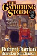 The Gathering Storm: The Wheel of Time #12 Cover