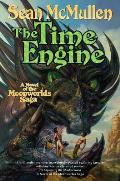Moonworlds Saga #04: The Time Engine by Sean Mcmullen