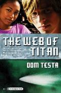 The Web of Titan: A Galahad Book (Galahad) Cover