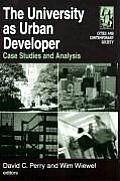 University as Urban Developer: Case Studies and Analysis (Cities and Contemporary Society)