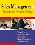 Sales Management : Analysis and Decision Making (7TH 09 - Old Edition)