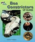 Boa Constrictors Up Close (Zoom in on Animals!) Cover