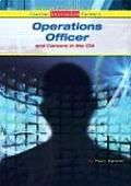 Operations Officer and Careers in the CIA