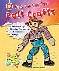 Fun and Festive Fall Crafts: Leaf Rubbings, Dancing Scarecrows, and Pinecone Turkeys