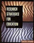 Research Strategies for Education