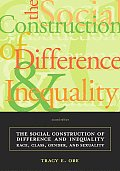 Social Construction Of Difference 2nd Edition