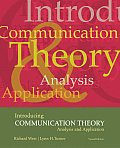 Introducing Communication Theory: Analysis and Application NAI