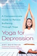 Yoga for Depression: A Compassionate Guide to Relieve Suffering Through Yoga Cover