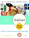 Italian Made Simple Revised Updated Edition