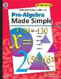 Pre Algebra Made Simple