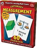 Hands-On Learning Customary Measurement Card Game (Hands-On Learning Card Games)