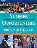 Summer Opportunities For Kids & Teenager