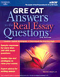 Gre Answers To The Real Essay Questi 2nd Edition