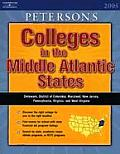 The Middle Atlantic States (Peterson's Colleges in the Middle Atlantic States)