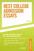 Best College Admission Essays 3rd Edition