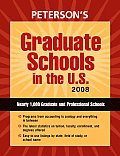 Peterson's Graduate Schools in the U.S. (Peterson's Graduate Schools in the U.S) Cover
