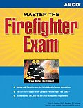 Master the Firefighter Exam (Arco Master the Firefighter) Cover
