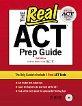 The Real ACT Prep Guide [With CDROM] (Real ACT Prep Guide)