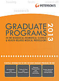 Peterson's Graduate Programs in the Biological/Biomedical Sciences & Health-Related/Medical Professions (Peterson's Graduate Programs in the Biological/Biomedical Sciences)
