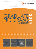 Peterson's Graduate & Professional Programs 2014
