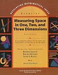 Developing Mathematical Ideas Measuring Space Casebook