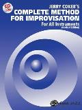 Jerry Coker's Complete Method for Jazz Improvisation: for All Instruments-with CD (97 Edition)