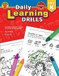 Daily Learning Drills Grade K