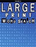 Large Print Word Search Puzzle Book 32