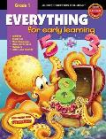 Everything for Early Learning, Grade 1 with Sticker (Everything for Early Learning)