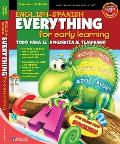 English Spanish Everything for Early Learning Todo Para El Aprendizaje Temprano With Stickers