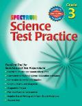Spectrum Science Test Practice: Grade 3 (Spectrum Science Test Practice)