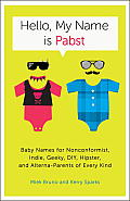 Hello My Name Is Pabst Baby Names for Nonconformist Indie Geeky DIY Hipster & Alterna Parents of All Kinds