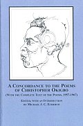 A Concordance to the Poems of Christopher Okigbo