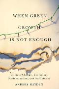 When Green Growth Is Not Enough: Climate Change, Ecological Modernization, and Sufficiency