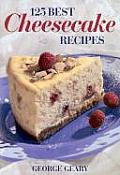 125 Best Cheescake Recipes Cover